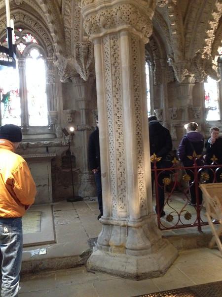 Rosslyn Chapel, Master's Column