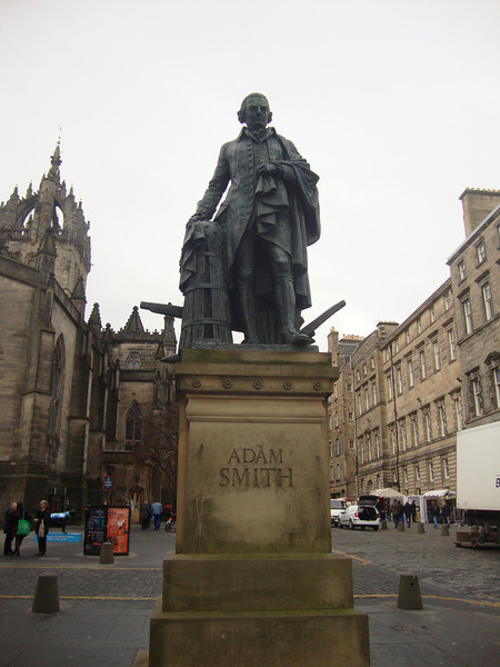 Adam Smith in Edinburgh