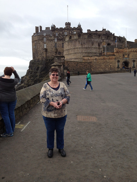 Mom at the castle