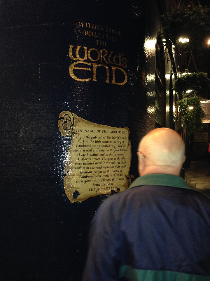The World's End Pub, and dinner on night 2