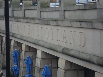A bridge over the river in Edinburgh