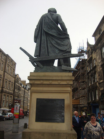 Every statue has a butt, even Adam Smith.