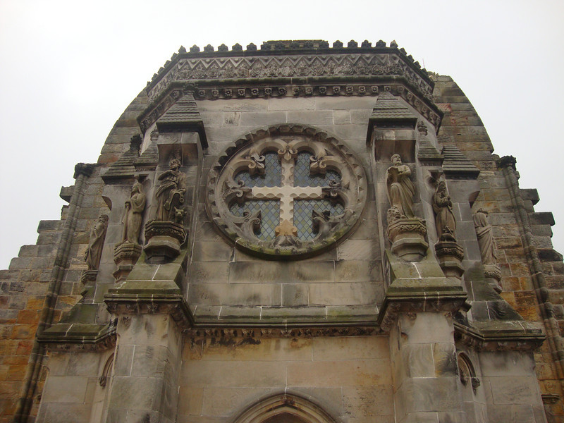 Rosslyn Chapel west entrance.
