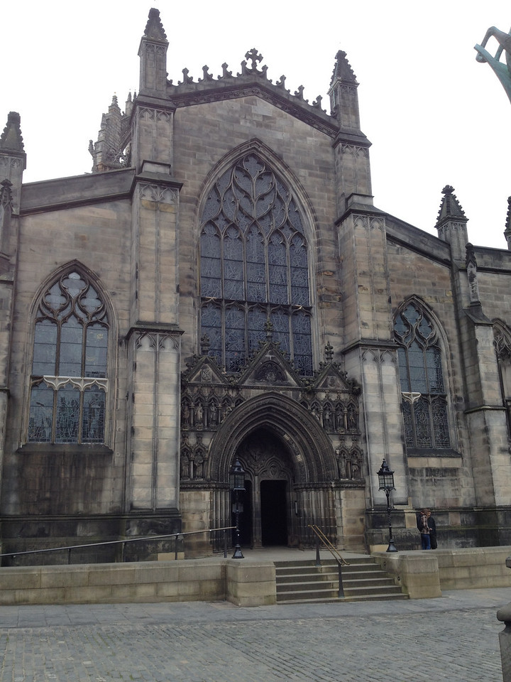Another old, closed, cathedral in Edinburgh.  This one was right out our hotel window.