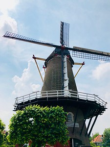 Windmill in Wageningen, NL