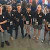 U16 team - Mike Bell (coach), Theo Anoyrkatis, Liz Gahan, Alex Pemberton, Henry Rose, Sarah Bell (NPC), Andy Cope, Oscar Selby