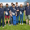U16 team - Sarah Bell (NPC), Andy Cope, Oscar Selby, Henry Rose, Theo Anoyrkatis, Liz Gahan, Mike Bell (coach) (absent - Alex Pemberton)