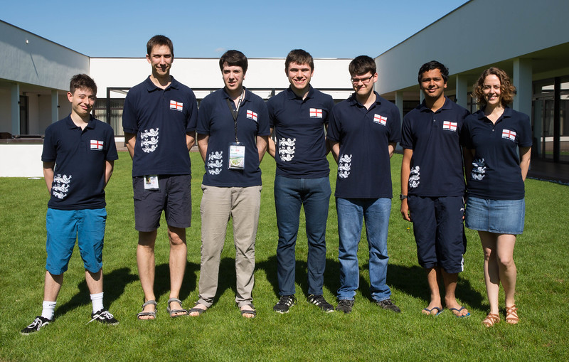 U21 team - Liam Sanderson, Michael Byrne (NPC), Sam Behrens, Jonathan Clark, Ben Norton, Kripa Panchagnula, Bryony Youngs (NPC) (absent - Daniel Winter)