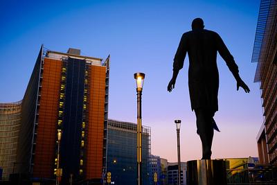 Statue Berlaymont