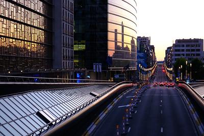 Sunset on Tunnel Loi