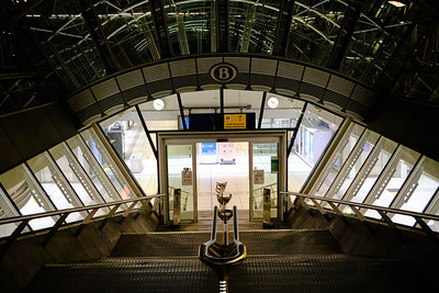 Luxembourg Station Entrance