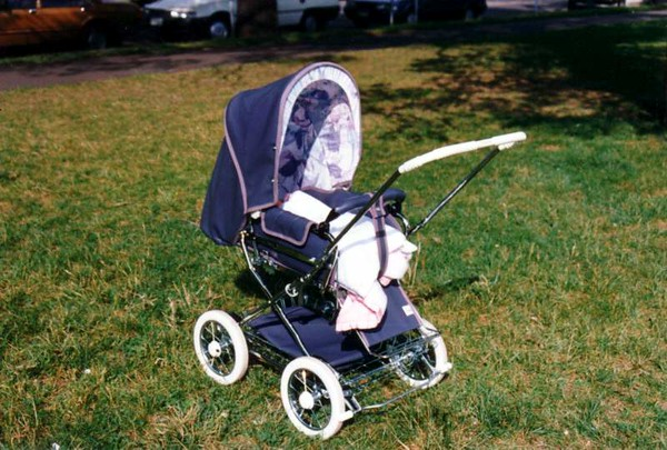 First outing with my new daughter in her new pram!