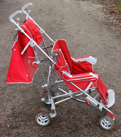 1987 Jane Janette stroller - red -