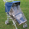 1990 Jane Janette stroller with fitted raincover