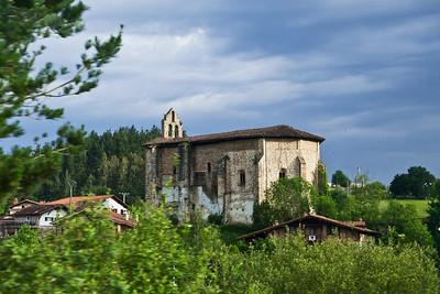 Orozco, Spain Ermita de Santa Marina in Orozco, in Spanish Basque Country.