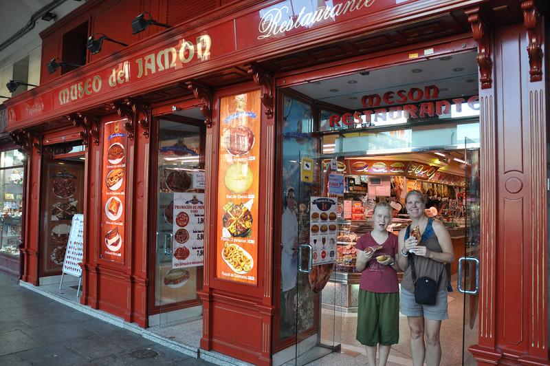 museum of ham - Spanish love their ham!!