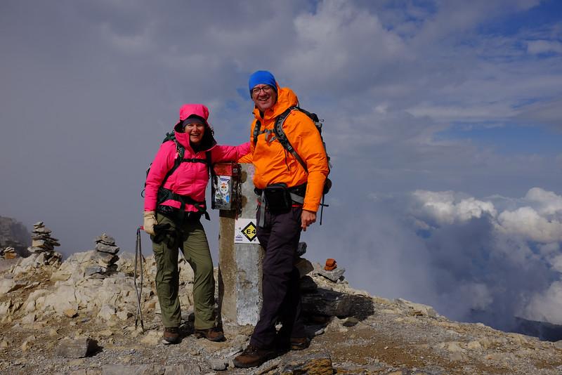 Hiking Partners on Skolio Peak, Mt. Olympus