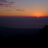 Sunset over the Aegean from Mt. Olympus