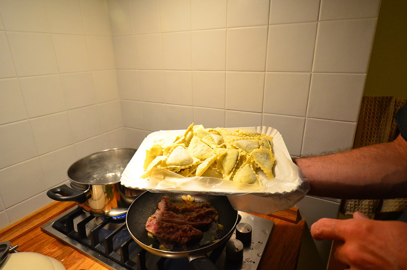 Local stuffed pasta