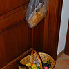 Bread, fruit and wine from Il Laghello di Amina arrived at the door several times during our stay.