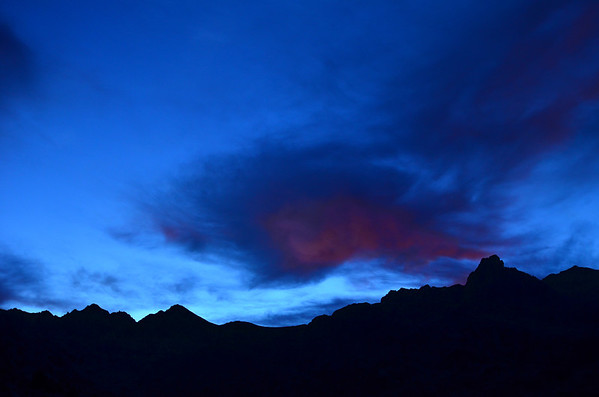Silhouettes-Maritime Alps, France and Italy (8 and 9/2011)