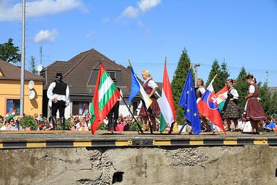 Cultural interlude #2 at Pribeník (Slovakia)  - 09/09/11.