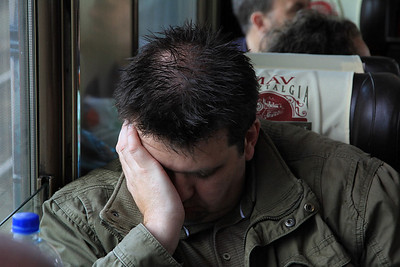 the 05.45 departure is too much for some  - 09/09/11.