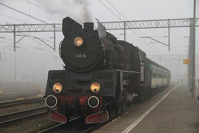 PKP Ol49-69, Poznań Gł, KW-77324 0918 to Wolsztyn - 17/11/12.