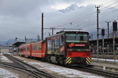 ZB D15, Jenbach, R137 11.11 to Mayrofen - 02/01/13.
