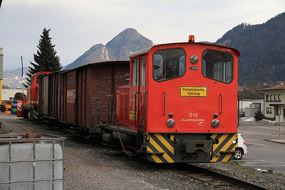 ZB D12, outside the shed at Jenbach - 27/12/12.