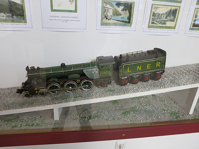 rather odd model of 'Flying Scotsman' in the Achenseer Museumswelt at Maurach - 30/12/12.