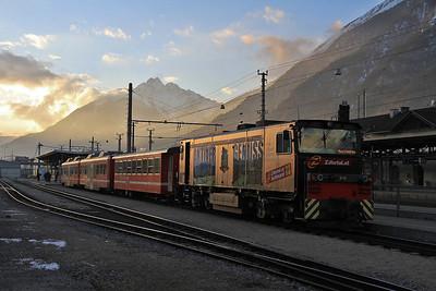 Austrian Railways, 27th December 2012-3rd January 2013