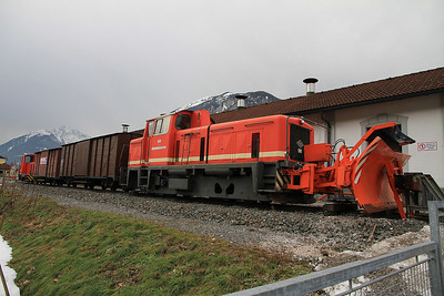 ZB D8, outside the shed at Jenbach - 27/12/12.