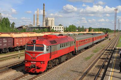 Belgian, Latvian & Lithuanian Railways, 17th-27th May 2013