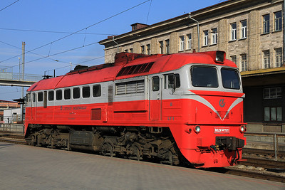 LG M62K 1181, Vilnius, after having worked in on G91 19.40 ex St. Petersburg - 19/05/13.