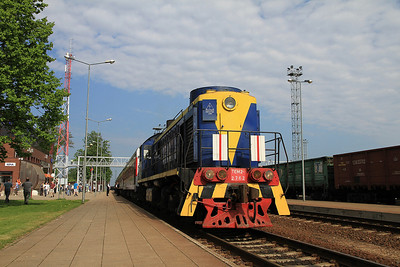 LG TEM2 2762, Kena, Day 1 of PTG 'Rail Wonders of Lithuania' charter - 19/05/13.