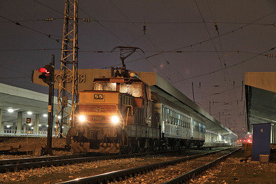 BDŽ 61006, Sofia Centrale, 292 20.30 to Beograd - 28/03/13.