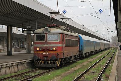 BDŽ 44074, Sofia Centrale, 2610 07.35 ex Varna - 28/03/13.