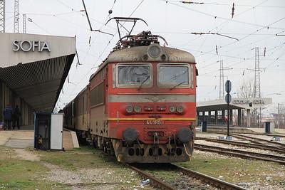 BDŽ 44185, Sofia Centrale, 1625 15.30 to Plovdiv - 28/03/13.