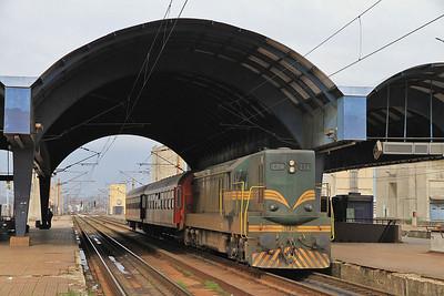 Bulgarian, Serbian, Kosovan, Macedonian & German Railways, 28th March-3rd April 2013