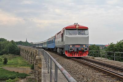 Czech and German Railways, 4th-8th July 2013