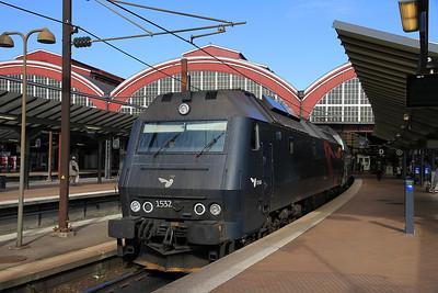 DSB ME1532, København H, R1525 10.27 Østerport-Kalundborg - 21/09/13.