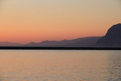 Sunset at Patra - 10/04/13.