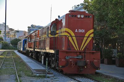 OSE A9101+A9105, Patra, 7350 09.00 charter to Katakolo - 11/04/13.