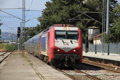 OSE 220014 arr Inoi, IC57 10.04 Thessaloniki-Athina - 10/04/13.