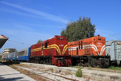 Greek Railways, 10th-16th April 2013