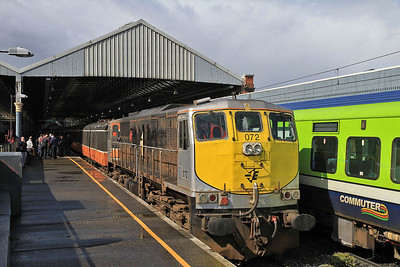 IR 072, Dublin Connolly, B500 RPSI 'Golden Vale Railtour' - Day 1  - 11/05/13.