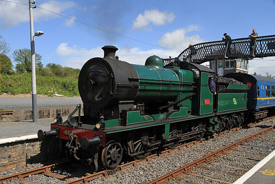 Ex-D&SER 461, Carrick-On-Suir, B400 RPSI 'Golden Vale Railtour' - Day 1  - 11/05/13.