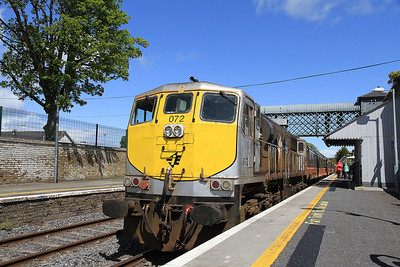 IR 072, Carlow, B500 RPSI 'Golden Vale Railtour' - Day 1  - 11/05/13.