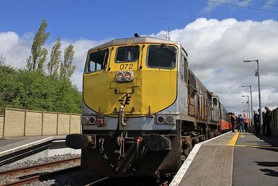IR 072, Bagenalstown, B500 RPSI 'Golden Vale Railtour' - Day 1  - 11/05/13.